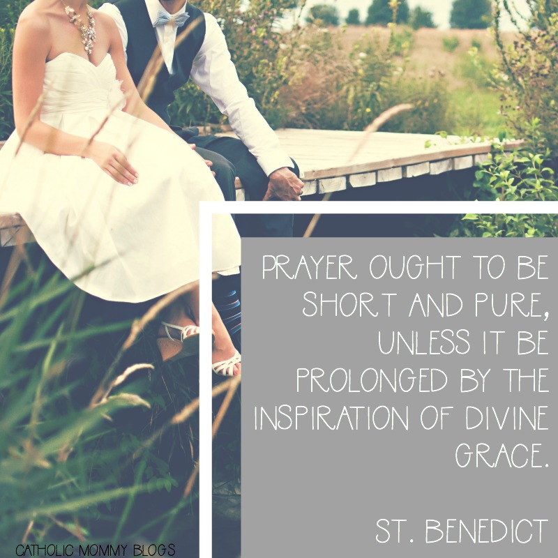 St Benedict Feast Day inspirational saint Quote
